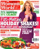 Woman's World Magazine 12/1/2014
