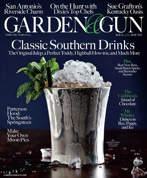 Garden & Gun Cover - 2/1/2014