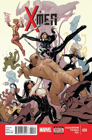 X-Men Gold Cover - 12/1/2014