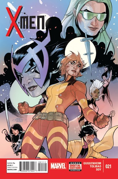 X-Men Gold Cover - 1/1/2015