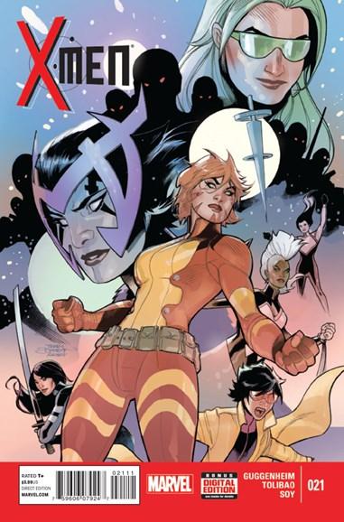 X-Men Gold Cover - 1/1/2015