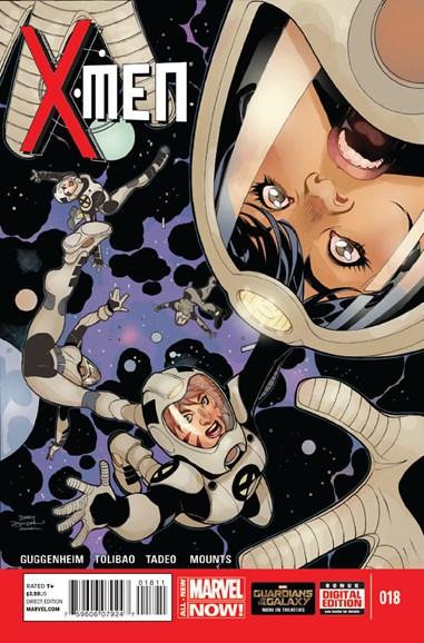 X-Men Gold Cover - 10/1/2014