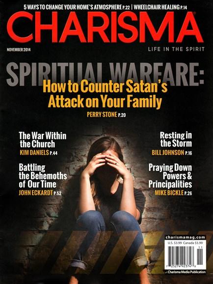 Charisma Cover - 11/1/2014