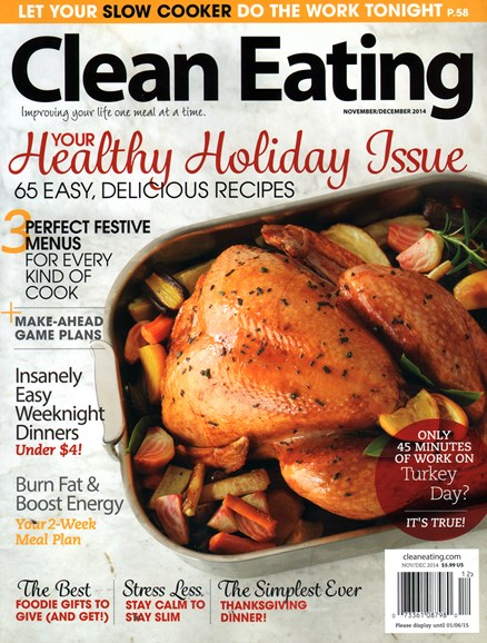 Clean Eating Cover - 11/1/2014