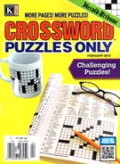 Herald Tribune Crossword Puzzles Magazine 2/1/2015