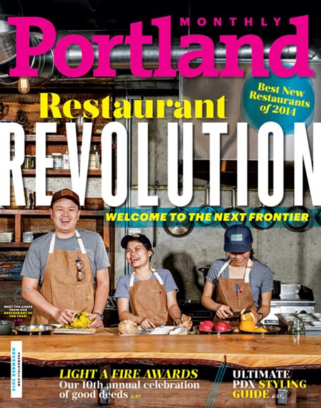 Portland Monthly Cover - 11/1/2014