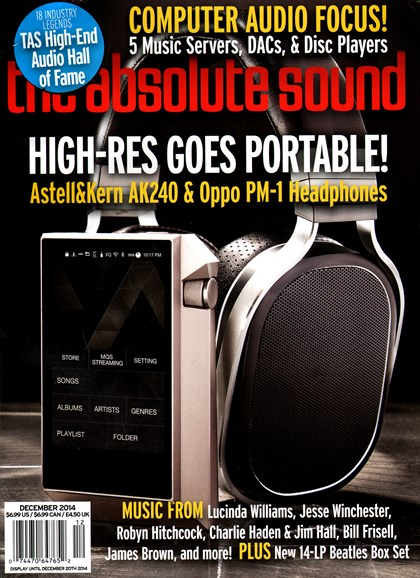 The Absolute Sound Cover - 12/1/2014