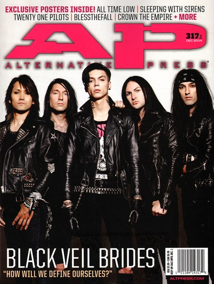 Alternative Press Cover - 12/1/2014