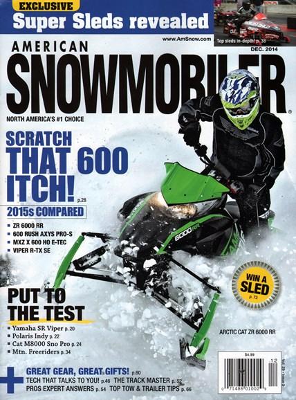 American Snowmobiler Cover - 12/1/2014