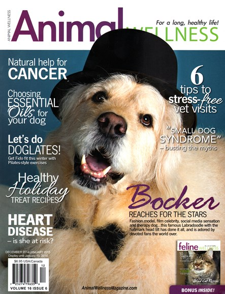 Animal Wellness Cover - 12/1/2014