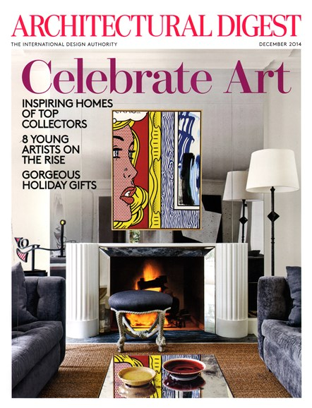 Architectural Digest Cover - 12/1/2014