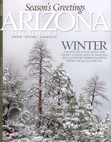 Arizona Highways Cover - 12/1/2014