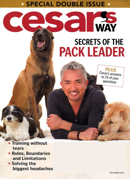 Cesar's Way Cover - 12/1/2014