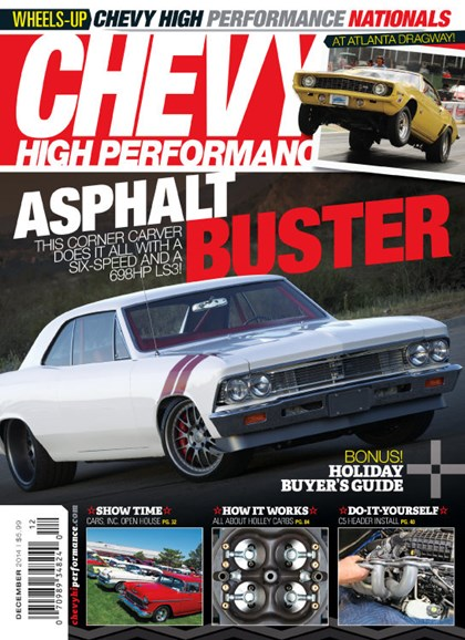 Chevy High Performance Cover - 12/1/2014