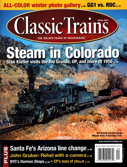 Classic Trains Cover - 12/1/2014