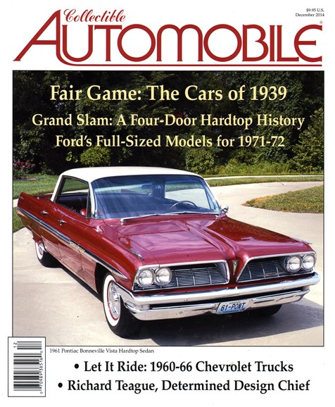 Collectible Automobile Cover - 12/1/2014