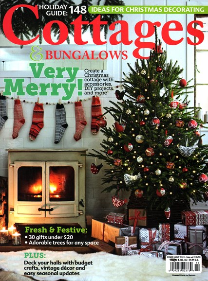 Cottages & Bungalows Cover - 12/1/2014