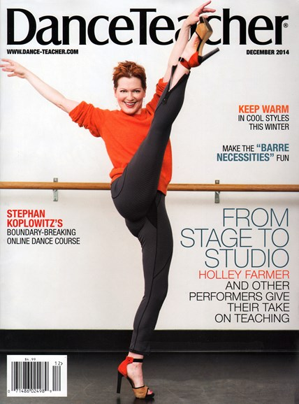 Dance Teacher Cover - 12/1/2014