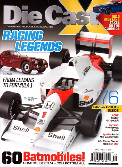 Diecast X Cover - 12/1/2014