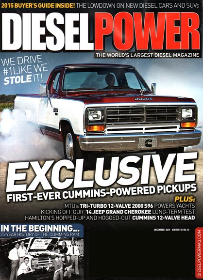 Diesel Power Cover - 12/1/2014