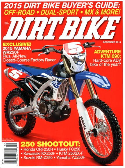 Dirt Bike Cover - 12/1/2014