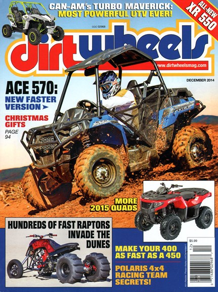 Dirt Wheels Cover - 12/1/2014