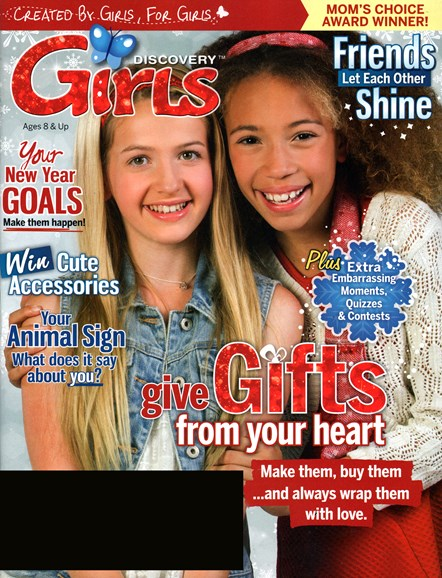 Discovery Girls Cover - 12/1/2014
