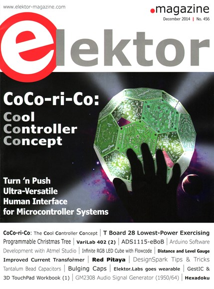 Elektor - North American Edition Cover - 12/1/2014