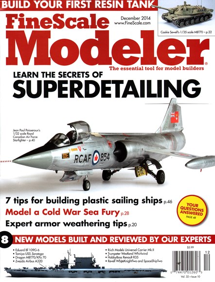 Finescale Modeler Cover - 12/1/2014