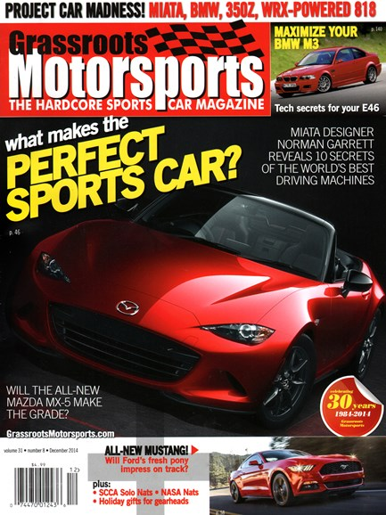 Grassroots Motorsports Cover - 12/1/2014