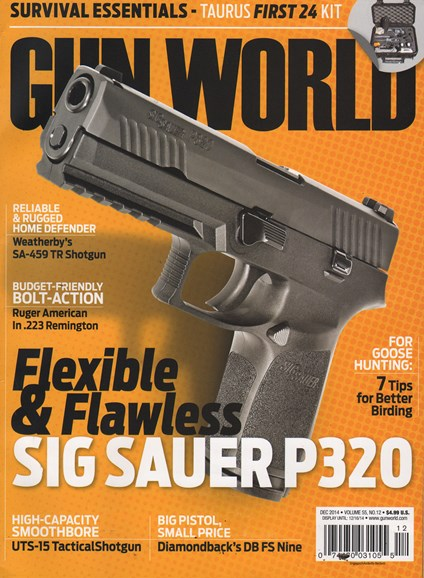 Gun World Cover - 12/1/2014