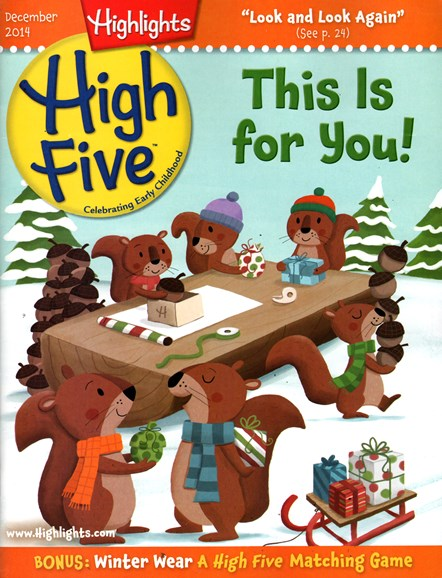Highlights High Five Cover - 12/1/2014