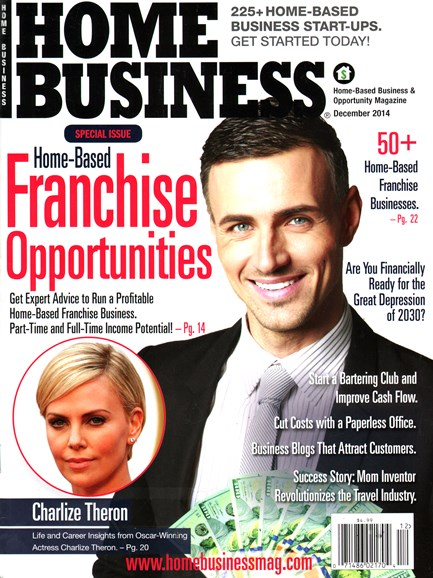 Home Business Magazine Cover - 12/1/2014