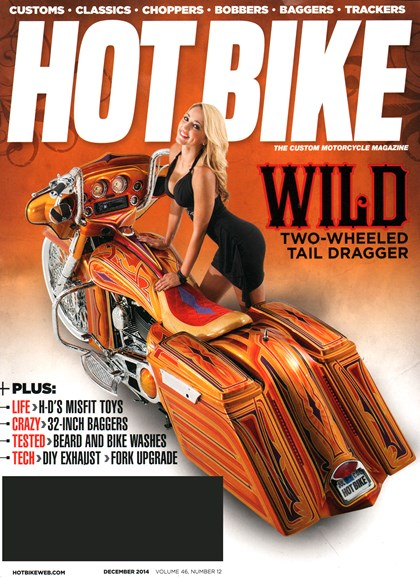 Hot Bike Cover - 12/1/2014
