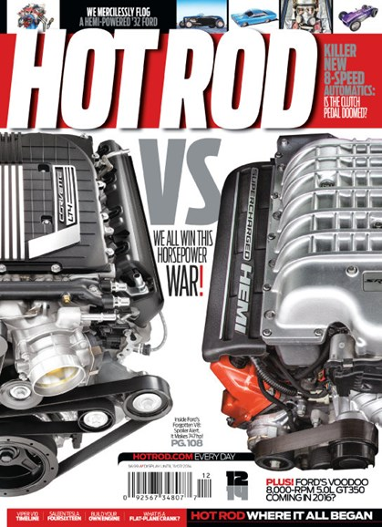 Hot Rod Cover - 12/1/2014