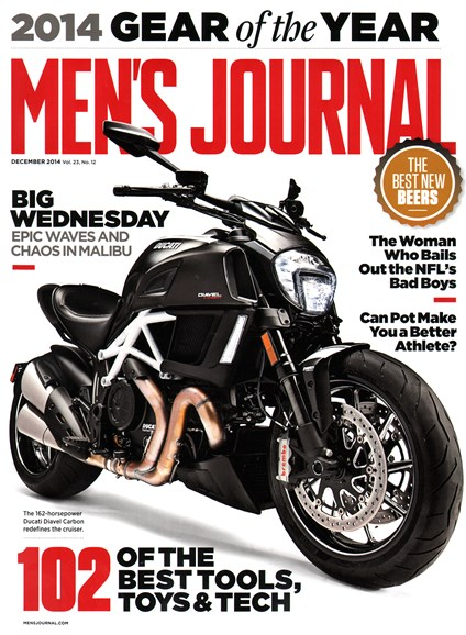 Men's Journal Cover - 12/1/2014