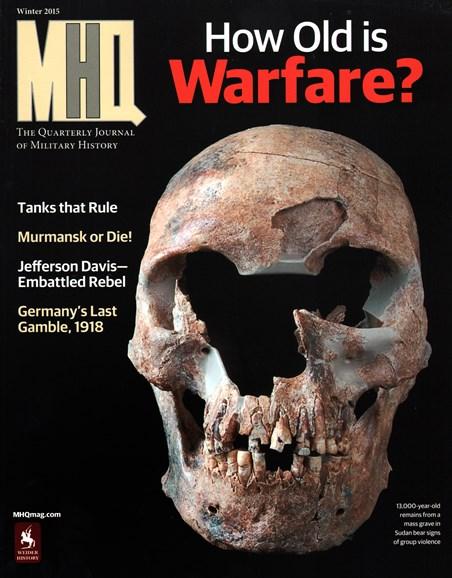 MHQ: Military History Quarterly Cover - 12/1/2014