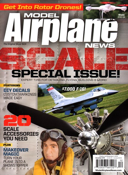 Model Airplane News Cover - 12/1/2014