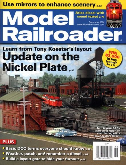 Model Railroader Cover - 12/1/2014