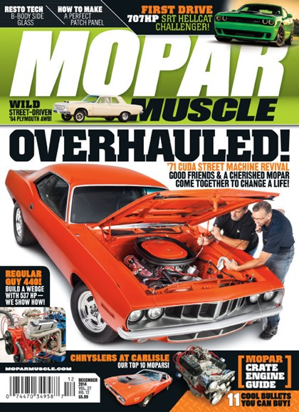 Mopar Muscle Cover - 12/1/2014