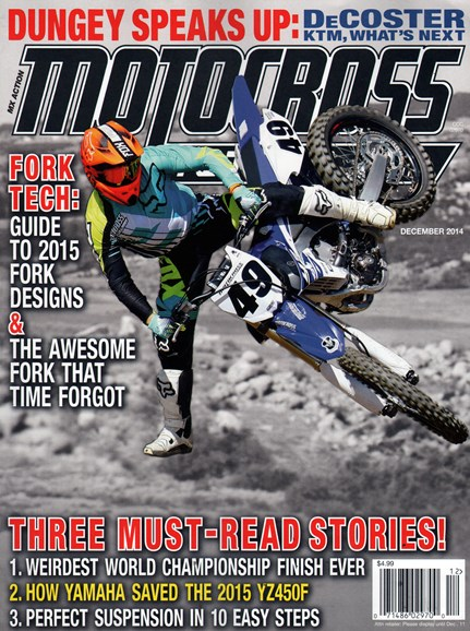 Motocross Action Cover - 12/1/2014