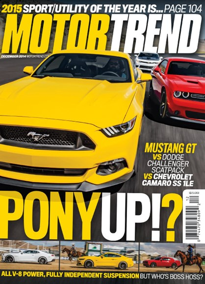 Motor Trend Cover - 12/1/2014