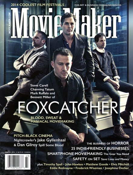 Moviemaker Magazine Cover - 12/1/2014