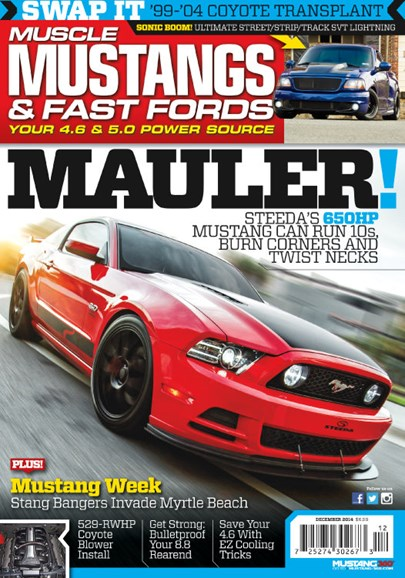 Muscle Mustangs & Fast Fords Cover - 12/1/2014