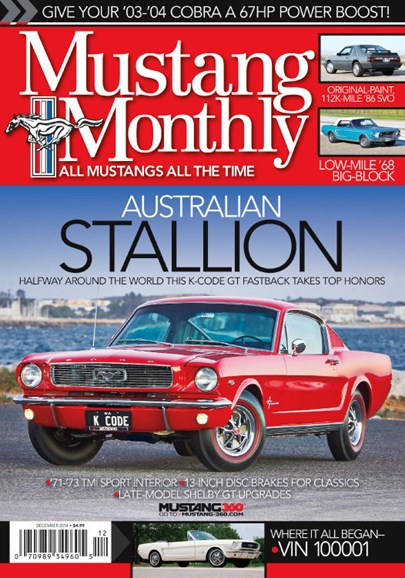 Mustang Monthly Cover - 12/1/2014