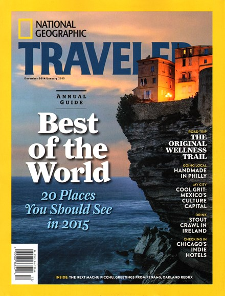 National Geographic Traveler Cover - 12/1/2014