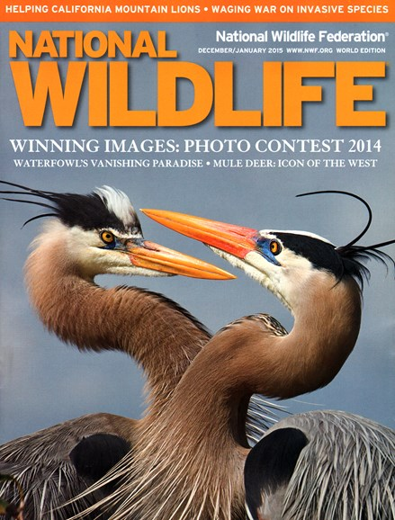 National Wildlife Cover - 12/1/2014