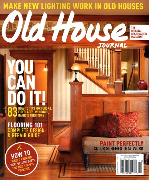 Old House Journal Cover - 12/1/2014