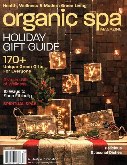 Organic Spa Cover - 12/1/2014
