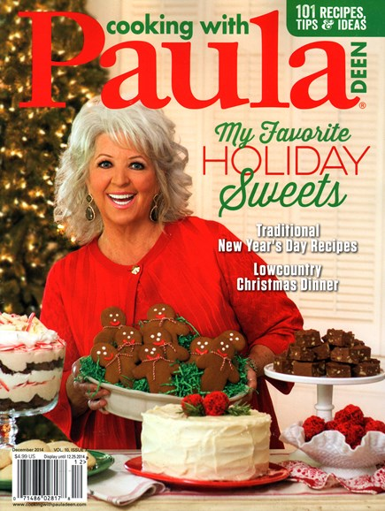 Cooking With Paula Deen Cover - 12/1/2014